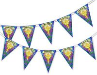 Happy Easter - Cross - Bunting Banner 15 flags by PARTY DECOR