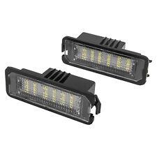 2x LED SMD TARGA LUCE TARGA VW Golf MK4 MK5 MK6 Passat Polo CC Eos 3D0943021A