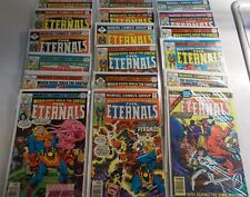 The Eternals 19 book lot near full run w/ extras Annual #1 Good Mid-Grade lot