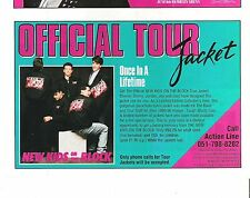 New Kids On The Block tour jacket UK magazine ADVERT/Poster/clipping 8x6 inches