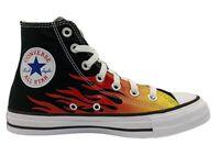 Scarpe da donna Converse all star 171130C sneakers alte tela nere chuck taylor