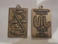 medaglia coordinamento nazionale vigili del fuoco Pompieri