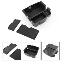 Black Armrest Handle Storage Box Cover For  Wrangler JL JLU 2018-2019