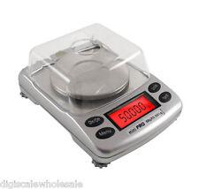 Milligram Lab Scale AWS Mini Pro 50 Jewlery Carat Digital 50g x 0.001g Precision