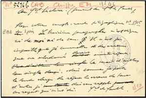 Charles de GAULLE lettre a leclerc