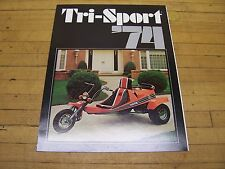 Vintage NOS Original 1974 Alsport Tri Sport 3 Wheeler Dealer Sales Brochure