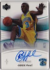 2005-06 UD Trilogy CHRIS PAUL Auto Focus Signature RC Rookie