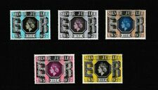 GB 1977 SG1033-1037 SILVER JUBILEE FULL SET OF 5 STAMPS VF MNH WITH ORIGINAL GUM