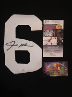 "Ernie Fats Holmes Pittsburg Steelers Autograph ""6"" authentic certified COA JSA"