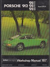 PORSCHE 911T 911E 911S 912 (1.6 2.0 2.2 2.4) COUPE & TARGA 64-72 WORKSHOP MANUAL