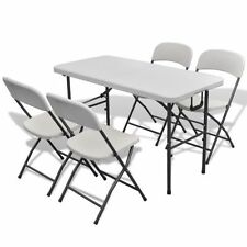 Steel Patio Contemporary Table & Chair Sets