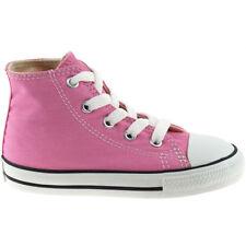 Chaussures roses Converse en toile pour fille de 2 à 16 ans