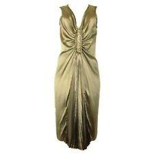 NWT Magaschoni Collection BLACK COLOR Silk Dress sz 4