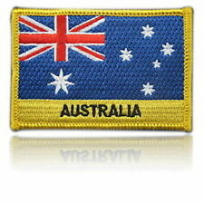 🇦🇺 Australia Embroidered Flag patch -Iron on or Sew