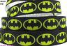 2 metres, BATMAN EMBLEM, 5/8, Ribbon, 16mm, Grosgrain, Hair, Cake Decor, Art