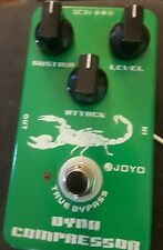 Joyo Dyna Compressor Guitar Pedal, Works Great, Mint Condition