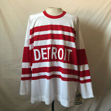 Vintage Hockey CCM Detroit Red Wings Jersey XXL New NWT NHL Official Licensed