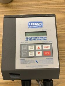 Leeson Adjustable Speed AC Motor Control PART # 174931.00