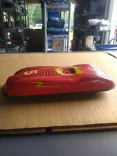 Vintage Tin Toy Friction Race Car