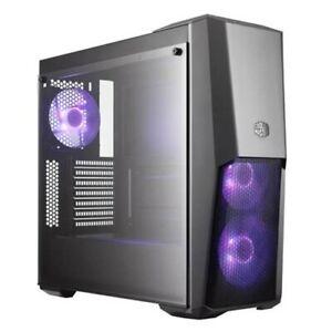 Cooler Master MasterBox MB500 RGB Black ATX Case, T/G Window, No PSU