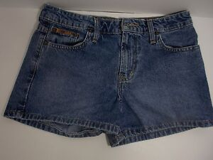 Vintage L.e.i. Medium Wash Denim Jeans Shorts Size 00/01