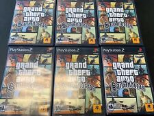 GTA Grand Theft Auto: San Andreas (PlayStation 2, 2004) PS2 Game Test Fast Ship