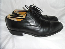 CALPIERRE MEN'S ELEGANT BLACK LEATHER LACE UP FORMAL SHOES  SIZE UK 7.5 EU 41.5