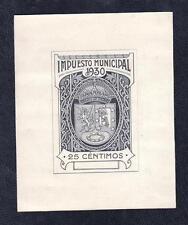 MADRID. 25 CTS IMPUESTO MUNICIPAL AYUNTAMIENTO DE MADRID 1930
