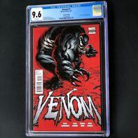 Venom #1 (2011) 💥 CGC 9.6 💥 2ND PRINT RED VARIANT! Second Printing Comic