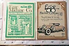 2 Egg Company Vintage Auto Parts Catalogs 1982 & 1986 Santa Fe Springs Ca