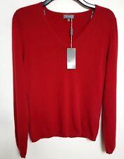 # et VOUS 100% cachemir para mujer Suéter UK14 Rojo