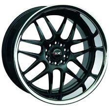18X9 XXR 526 5x114.3/120 +25 Black/Silver Stainless Chrome Lip Wheel (1)