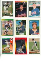 Lot 2 of (42) John Smoltz Cards w/ Rookies RC and Inserts MLB Atlanta Braves