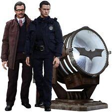 John Blake & Jim Gordon with Bat Signal 1/6 Scale Hot Toys Dark Knight Rises Set