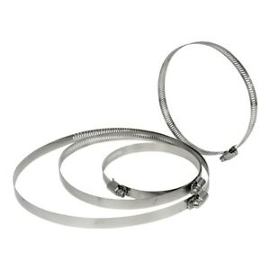 """Worm Driven Jubilee Clip Hose Ducting clamps Ventilation Hydroponics 4"""" - 15"""""""