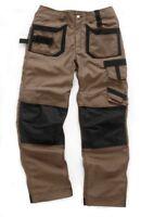 Scruffs Pro Trade Trousers Brown Work Pants Cordura
