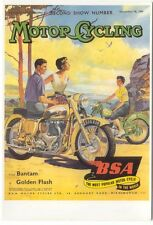 BSA Motor Cycling Modern colour postcard by Mayfair