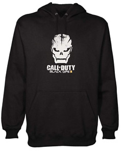 Official Call Of Duty Black OPS 3 Men's Pullover Hoodie- Loot Crate Size L - XXL