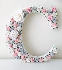 Flower letters 20cm