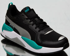 Puma x Mercedes AMG Petronas X-Ray Men's Black Silver Lifestyle Sneakers Shoes