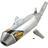 Yamaha WR250F YZ250F YZ250FX 15-18 FMF Racing Powercore 4 HEX Steel Exhaust