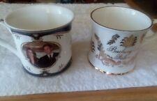 Royal Crest Prince William Kate Middleton Commemorative Cup Mug Pair