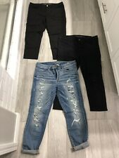 American Eagle Jeans High-rise Jogging Crop Size 14