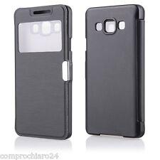 étui Noire S-vue Porte monnaie pour Samsung Galaxy A3 A300F A3000 Flip Cover
