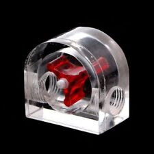 Computer PC Water Cooling System Water Flow Meter Speedometer Sealing Red