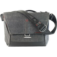 "NEW PEAK DESIGN EVERYDAY MESSENGER 13"" CHARCOAL WEATHERPROOF ADJUSTABLE STRAP"