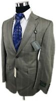 NWT Lauren Ralph Lauren 38R SILK WOOL Gray Green Green Plaid 2 Button Sport Coat