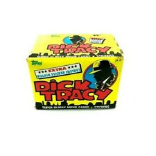 Dick Tracy Movie ~ (24) Pack Unopened Jumbo Box of Trading Cards ~ $.99/Pack