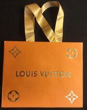 Louis Vuitton Holiday Gift Shopping Bag Tote Ribbon Handles 1 Qty