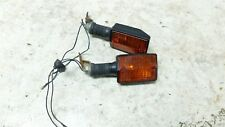 84 Yamaha XT600 XT 600 rear back turn signals blinkers right left